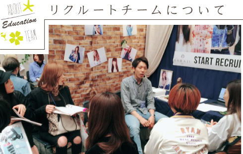ABOUT Product TEAM リクルートチームについて